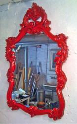 Glamorous Baroque Mirror